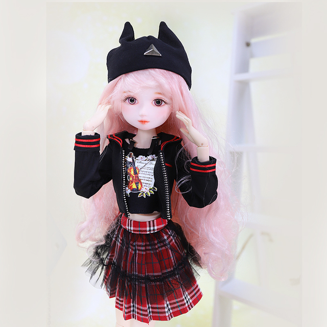 Clothes for 1/4 BJD 45cm Diary Queen series suit dress handmade high quality Toys gift SD Forturn Days