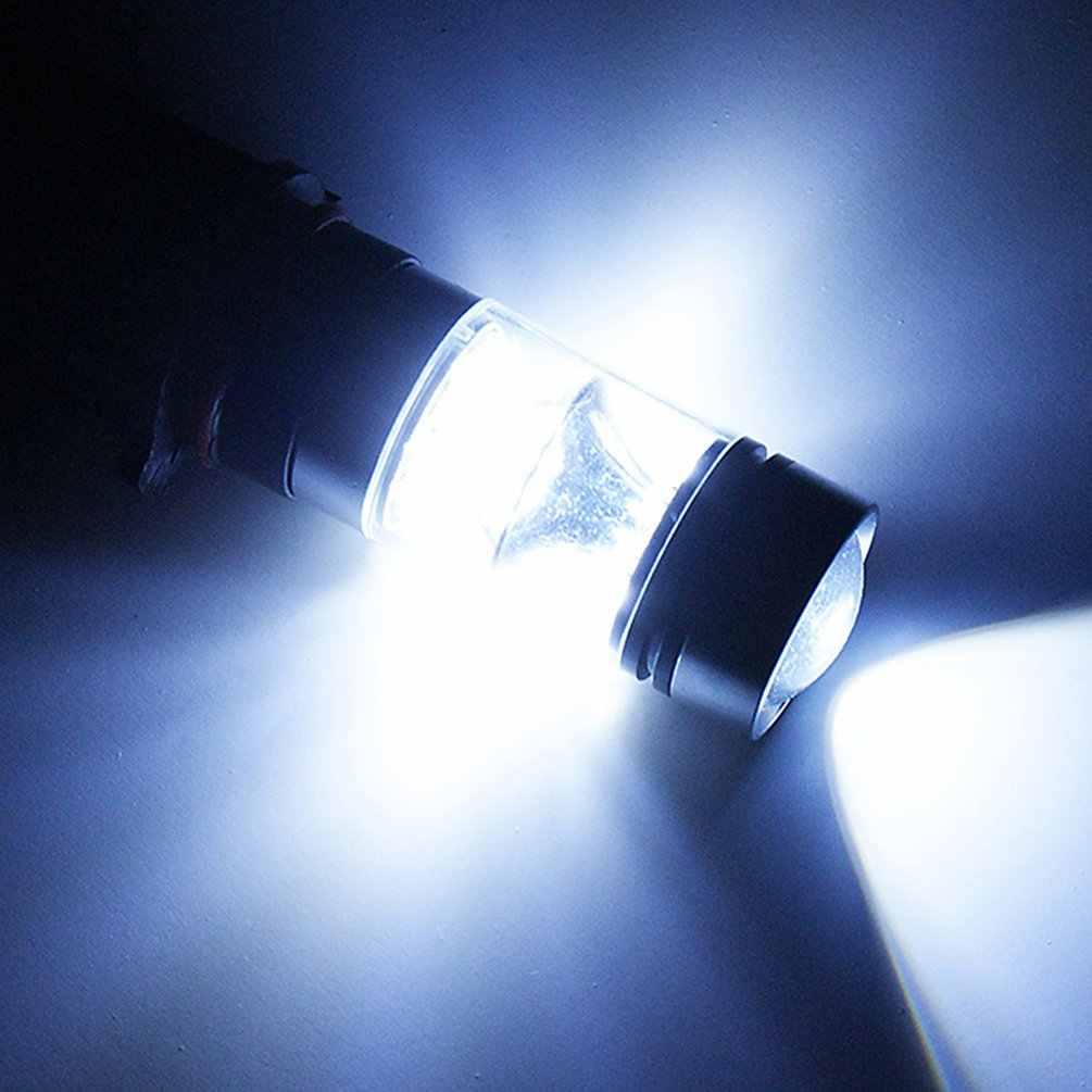 H4 H7 ด้านหน้าหมอก 100W ไฟหน้า Golden Light ความสว่างสูง LED ไฟรถหมอกโคมไฟ