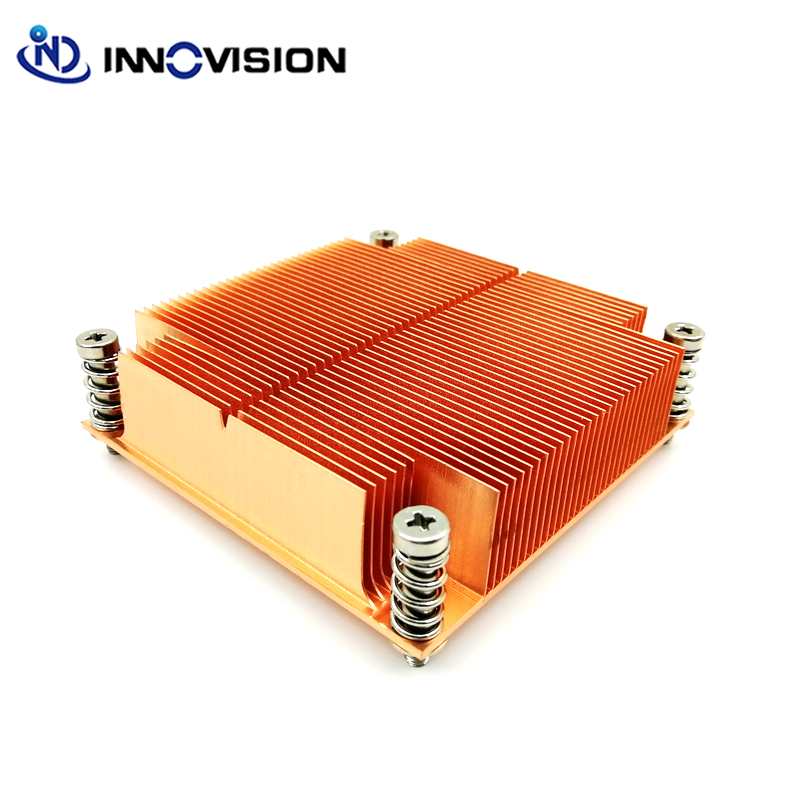New CPU Cooler LGA2011 Square passive heatsink for Intel® Xeon® E5-1600,E5-2600 & E5-4600 Series image