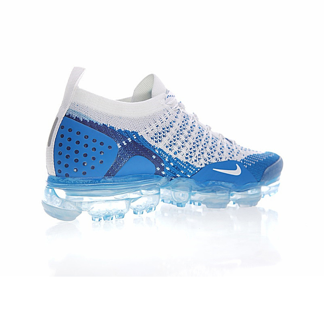 Original Authentic NIKE AIR VAPORMAX FLYKNIT 2.0 Men's Running Shoes Breathable Sport Outdoor Athletic Sneakers 2019 New 942842