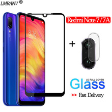2-in-1 Camera Glass for Redmi Note 7 3D Protective 7A Screen Protector redmi Tempered note