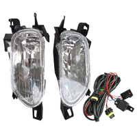 DWCX 1 Pair Front Side Fog Lights Lamps & Switch Wiring H11 Bulb Kit Assembly WJ30014209 Fit for Honda Accord 2003 2004 2007