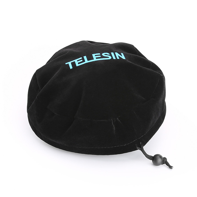 TELESIN Protective Dome Bag Soft Protect Cover for all TELESIN Dome Port for GoPro Hero 3/3+, Hero 4, Hero 5 and Xiaoyi 4K