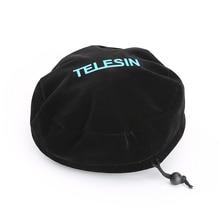 TELESIN واقية قبة حقيبة لينة غطاء وقائي لجميع TELESIN قبة ميناء ل GoPro بطل 3/3 + ، بطل 4 ، بطل 5 و Xiaoyi 4K