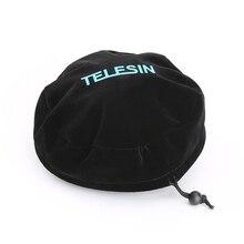 TELESIN koruyucu kubbe çanta yumuşak koruyucu kapak tüm TELESIN için Dome portu GoPro Hero 3/3 +, Hero 4, hero 5 ve Xiaoyi 4K