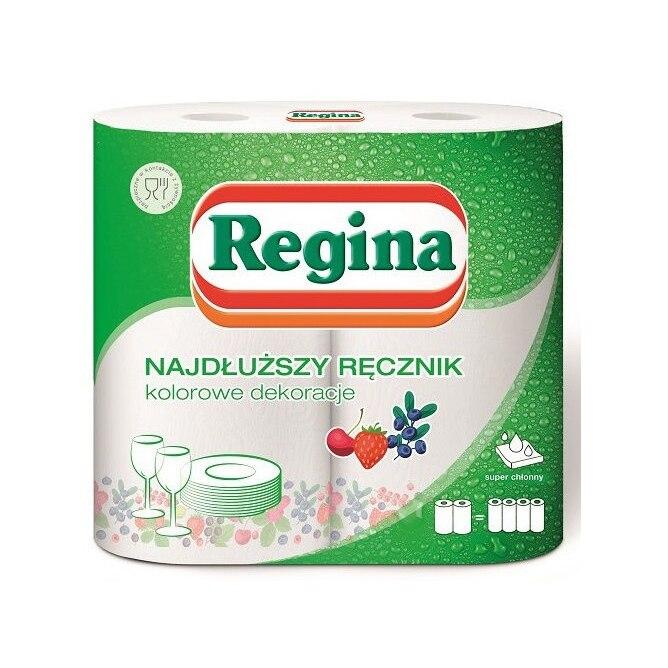 Paper Kitchen Towel Regina, 411151 / 412406 / 413398, XXL 2rul, 2 Layers