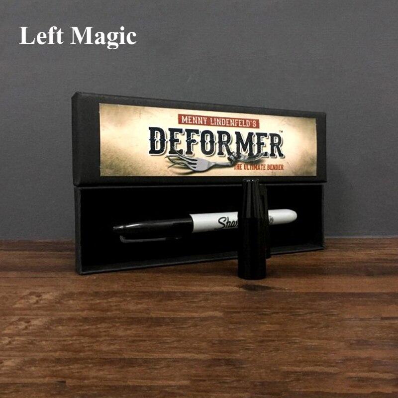 Deformer de Menny Lindenfeld (stylo Gimmick et instruction en ligne) mentalisme tours de magie comédie pièce se pliant Illusions accessoires de magie