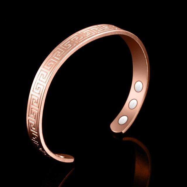 Pure Copper 6 Magnetic Bangle 3