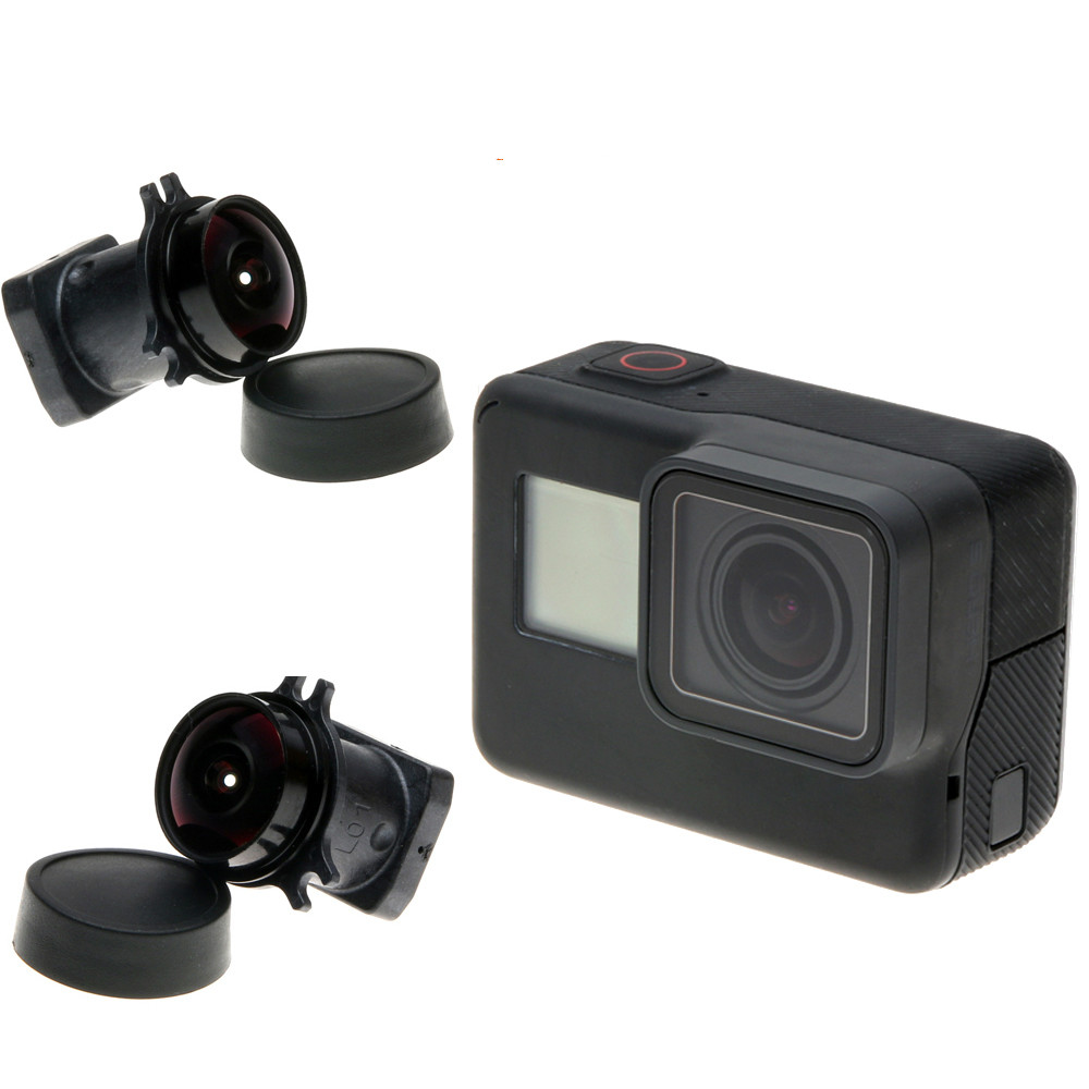 Gopro 7 6 5 Lens 170 Degree Wide Angle Lens Replacement Camera Lens for Gopro Hero 7 6 5 Black Go Pro Action Camera in Sports Camcorder Cases from Consumer Electronics