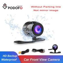 Podofo Auto CCD HD Auto Front View Kamera Backup Rückansicht Kamera Hinten Monitor Einparkhilfe Wasserdichte Kamera Reverse