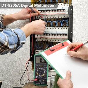 Image 5 - Handskitマルチメータac dcデジタルマルチメータプロフェッショナルテスターメーター電圧計、lcdディスプレイ2000カウントメーターテスター