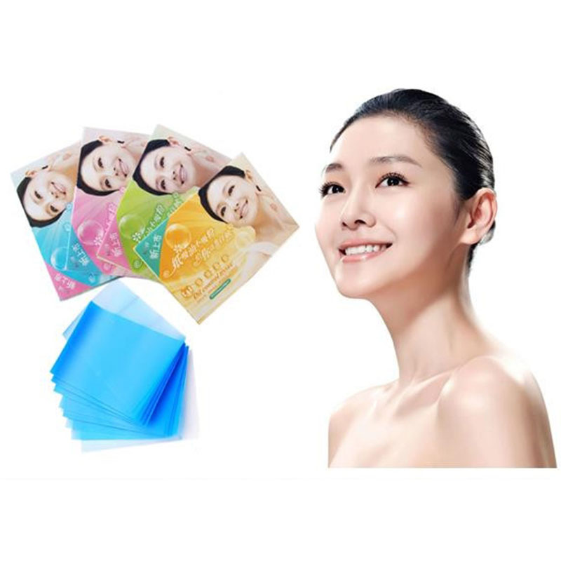 2Pcs/Set Portable Powerful Makeup Oil Control Absorption Tissue Face Facial Papers Women Beauty Tool Accessory New