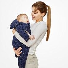 Cotton Four Seasons Cartoon Starfish Baby Sleeping Bag Embraced by Neonatal 80x73cm