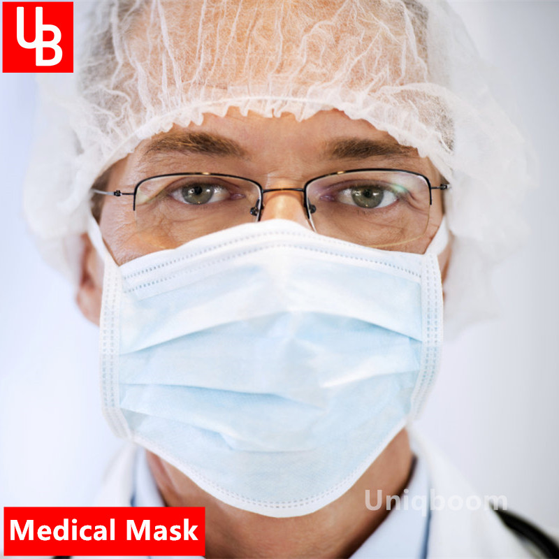 Disposable Dust Safety Surgical Mouth Masks Anti PM 2.5 Anti Influenza Breathing Respirator Gas Masks Face Filter Mask