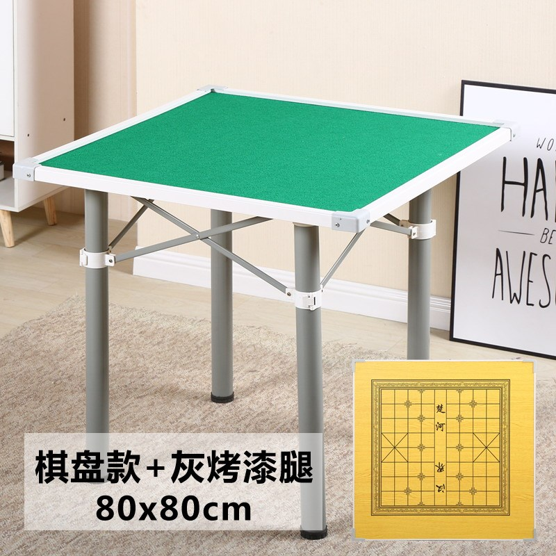 Folding Mahjong Table Simple Household Chess Table Poker Tables Durable Ruleta Chupitos Solid Entertainment Board Game Cheap