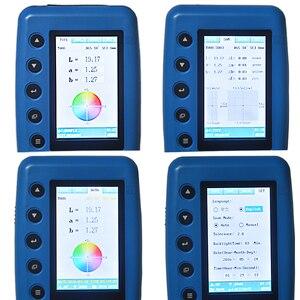 Image 2 - Портативный цветной измеритель, анализатор цвета, Цифровой точный Лабораторный Измеритель цвета, тестер 8 мм