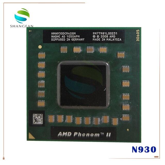AMD Phenom cpu processor N930  HMN930DCR42GM 2.0Ghz/2M Socket S1 638 pin PGA Computer CPU