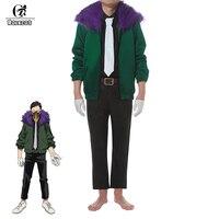 ROLECOS Anime My Hero Academia Cosplay Costume Kai Chisaki Overhaul Cosplay Uniform Boku No Hero Academia Coat Pants Outfit