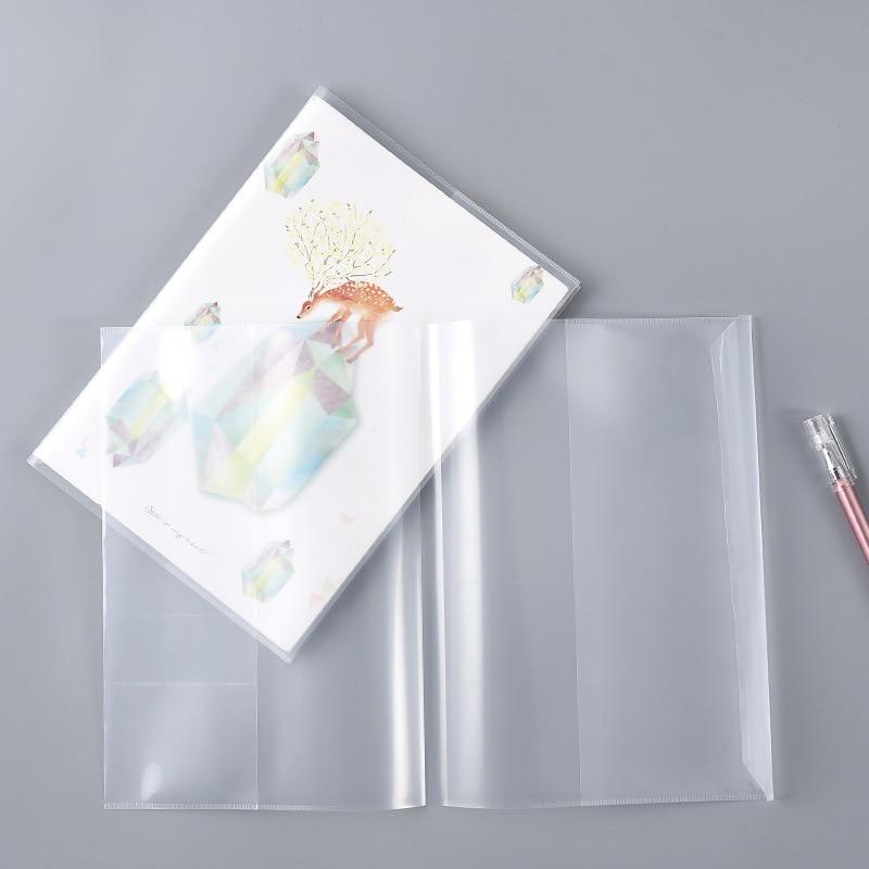 Чехол-книжка Прозрачная Обложка для книги для начальной школы, книга-пленка, водонепроницаемый пластиковый чехол-книжка, оберточная бумага