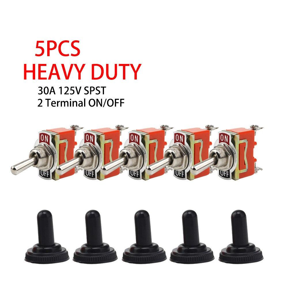 Gratis Verzending 1 pcs Goede Kwaliteit E-TEN1021 2-Pin SPST 2 Terminal AAN-UIT 15A 250 V Toggle schakelaar orange