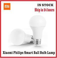 Xiaomi-bombilla LED inteligente Philips E27, lámpara blanca con Control remoto por aplicación, para Xiaomi Mijia Home