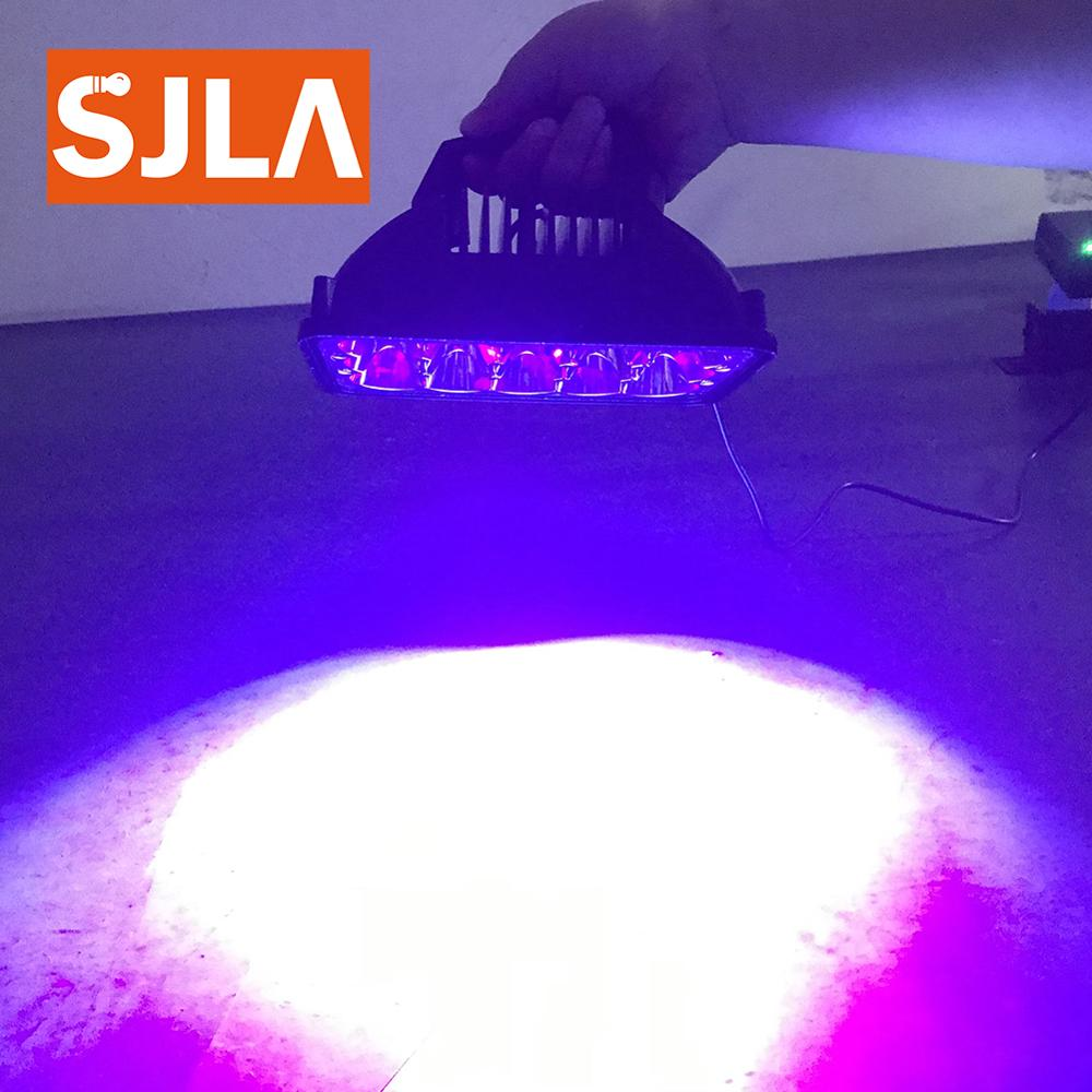 365nm 385nm 395 405nm Led UV GEL Curing Lamp Ultraviolet Light Cure Oil Printing Machine Glass Ink Paint Silk Screen 3D Printer