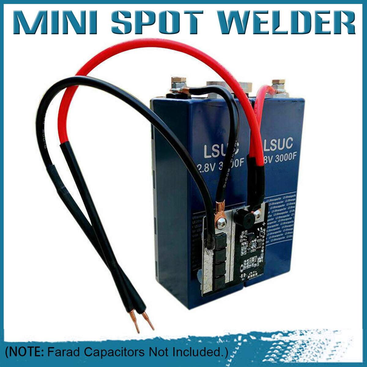 Portable 5.6V Spot Welder For 18650 Battery Box Assembly DIY Homemade Spot Welder Pens Welding Machine Tool
