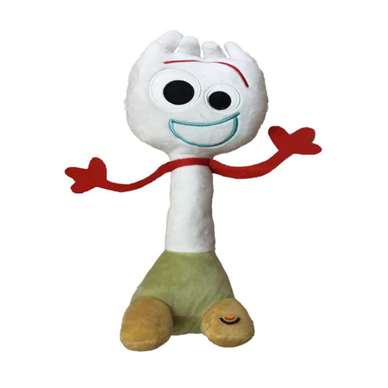 New Toy Story 4 Forky Woody Sheriff 15-25 CM Stuffed Doll Plush Toys For Children Christmas Gifts