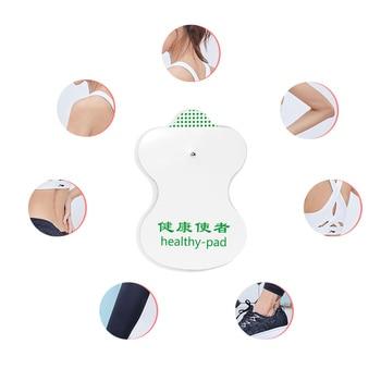 20 Αναλώσιμα Ηλεκτρόδια με clip και αυτοκόλλητα για EMS / TENS Αθλητικά και Δραστηριότητες Προϊόντα Περιποίησης Προϊόντα Υγείας Χόμπι MSOW