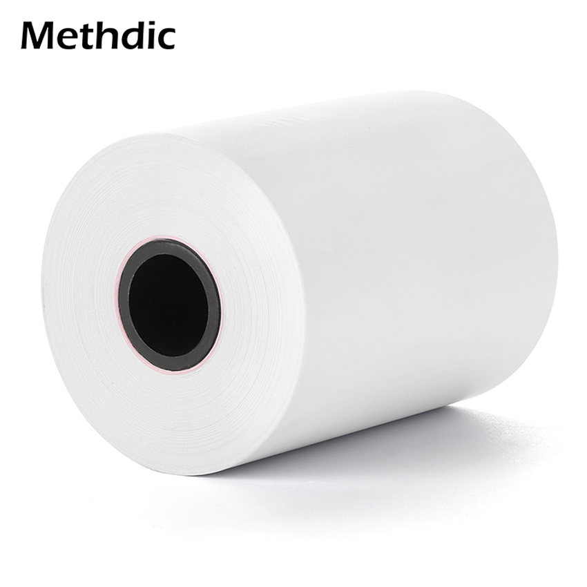Methdic 10 Roll Customizable Size POS Terminal Thermal Paper Roll 57*40mm