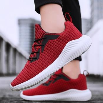 2019 Men Fashion Shoes Casual Men Shoes Sneakers Black Breathable Male Sneakers Zapatillas Hombre  S3141-3165 C1
