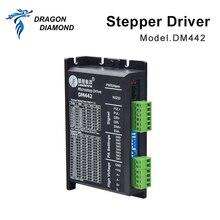 DRAGON DIAMOND Leadshine Stepper Driver DM442 2 Phase Driver Voltage 20~40VDC Current 1.0~4.2A For Laser Engraver