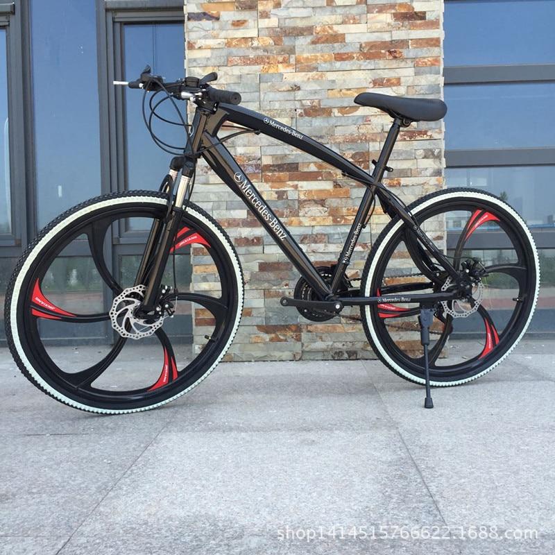 Mountain Bike Bicycle 26 Inch One Wheel Double Disc Brake Mountain Bike