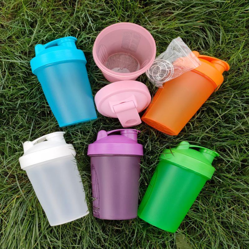 Высококачественный шейкер для белкового порошка, 400 мл, пластиковая чашка для молочного коктейля, бутылка для воды, стеклянная фляжка для пи...