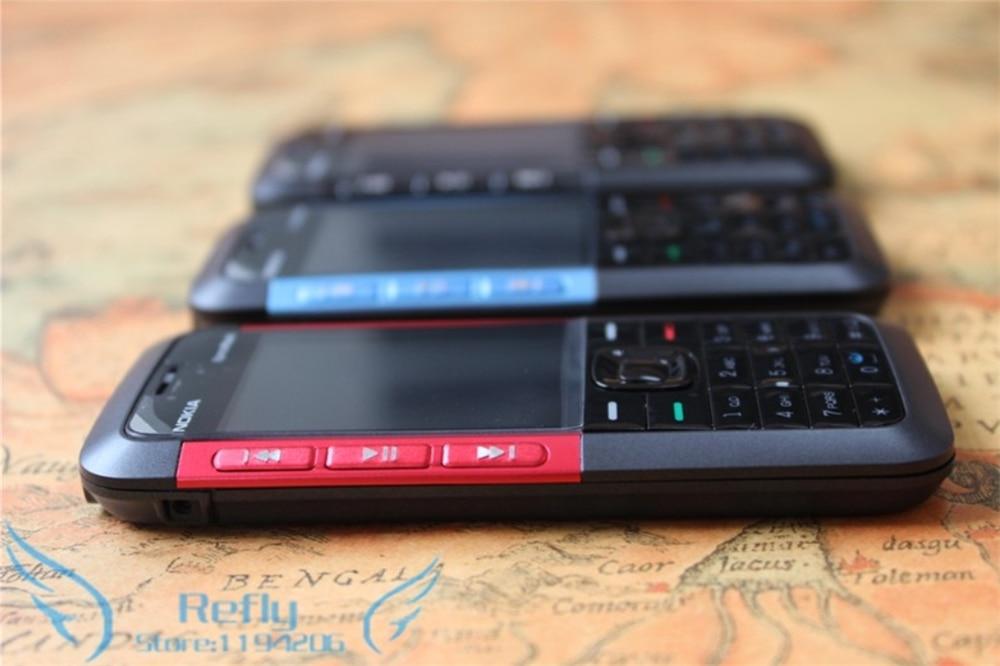 Разблокированный Nokia 5310 XpressMusic Bluetooth Java MP3-плеер Поддержка русской клавиатуры Восстановленный телефон