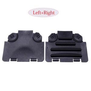 Image 1 - 1 Pair Black Left/Right Car Front Fender Liner Access Cover Trim Auto Decoration Accessories For BMW E82 E88 E90 E91 135i 325i