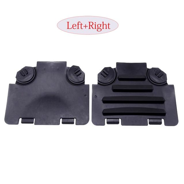 1 Pair Black Left/Right Car Front Fender Liner Access Cover Trim Auto Decoration Accessories For BMW E82 E88 E90 E91 135i 325i