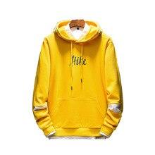 Men Patchwork Color Block Pullover Hooded Jackets Autumn Tracksuit Casual Sweatshirt Xxxtentacion Hoodies Sweatshirts