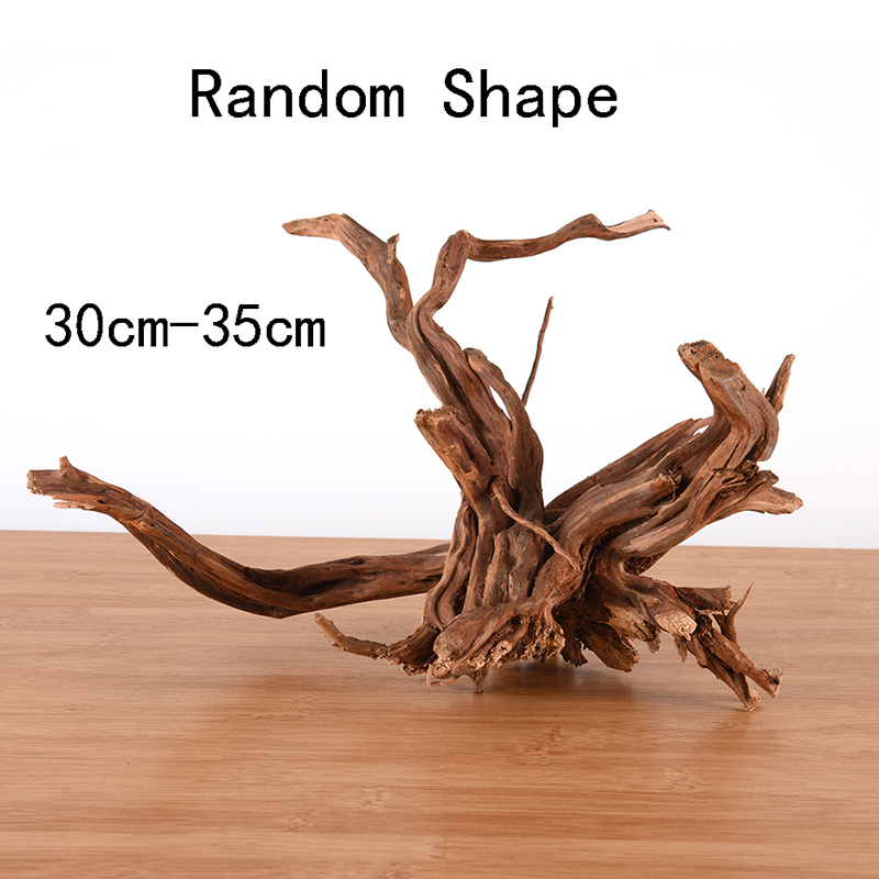1PC Natural Tree Trunk Driftwood Fish Tank Driftwood Aquarium Fish Tank Plant Wood Aquarium Decoration Home Desktop Decoration(China)