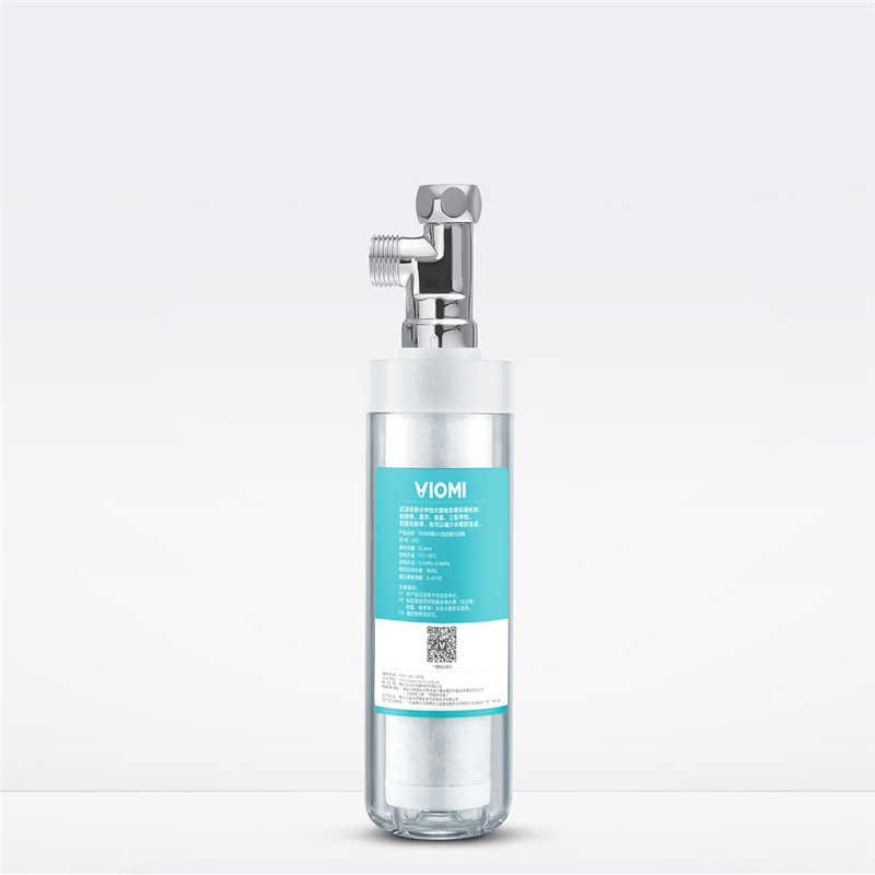 Youpin VIOMI VF3 3 で 1 プレフィルターパイプ接続水フィルター 5L/分流量キッチン浴室透明フィルター