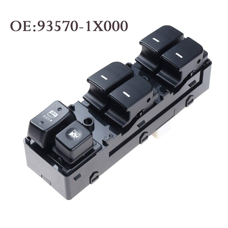 YAOPEI 高品質新 93570-1X000 電動パワーウインドウのマスターコントロールスイッチ現代起亜