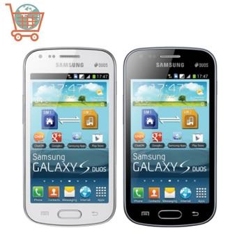Original Unlocked Samsung Galaxy S Duos S7562, Mobile Phones, 4.0'' Screen 3G WIFI GPS 5MP 4GB Dual Sim, High Quality Smartphone 1