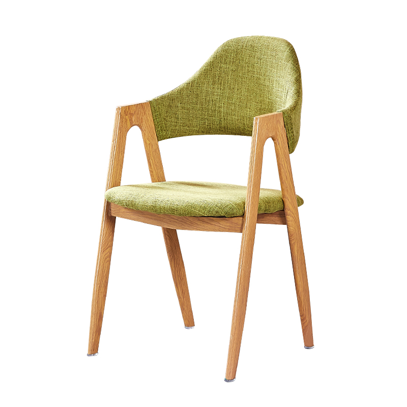 Nordic dining chair a word  modern minimalist ins net red personality restaurant  back leisure lazy stool