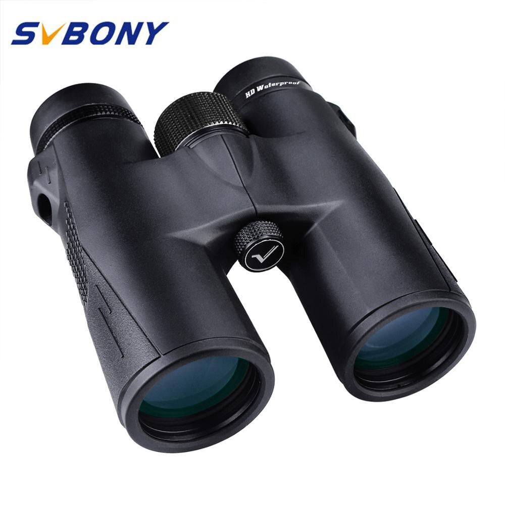 SVBONY Hunting Binoculars 8X42 10X42 8X32 BAK4 Prism SV47 HD Zoom Telescope High Power Waterproof Nitrogen Filled  F9340