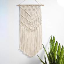 Macrame Woven Wall Hanging Boho Chic Bohemian Room Geometric Living Art Decor-Beautiful Apartment Dorm Home Decoration Gift