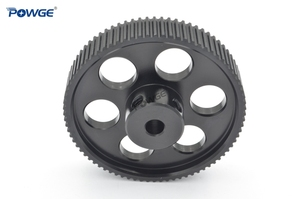 Image 5 - POWGE VORON DESIGN 80 Teeth 2MGT 2GT Timing Pulley Bore 5mm for GT2 2M Open Synchronous belt width 9/10mm 80Teeth 80T 3D printer
