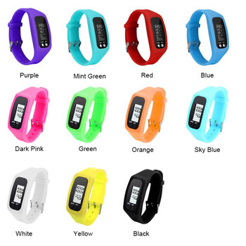Top Selling Multifunction 10 Colors Digital LCD Pedometer Run Step Calorie Walking Distance Counter High Quality Fitness Long-life Battery — stackexchange