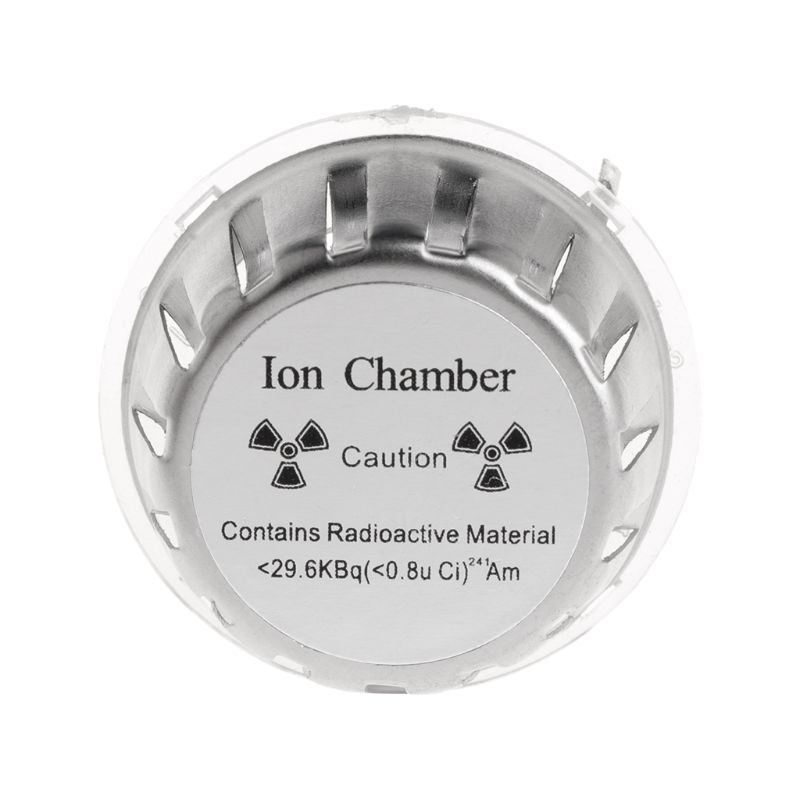 New Ion Chamber Metal Geiger Fire Alarm Security System Source Smoke Detector Sensor Instruments And Apparatus