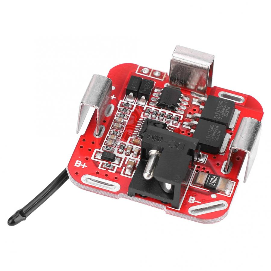 XL-MH9949F 4 Series Lithium Li-ion 18650 Battery Packs Protection Board Module In-line Type 16.8V Overcharge Protection