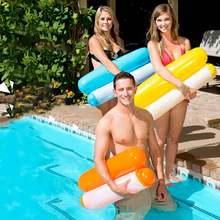 Надувной матрас для бассейна плавающий водный гамак стул летний